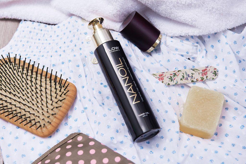nanoil low porosity oil for hair test